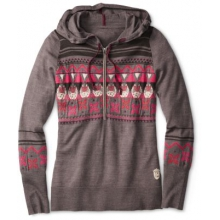 Women's Charley Harper Glacial Bay Hoody by Smartwool