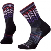 Women's PhD Outdoor Light Pattern Mid Crew by Smartwool in Branford Ct