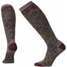 Women's Lingering Lace Knee High by Smartwool in Golden Co