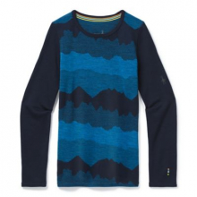 Kids' Merino 250 Baselayer Pattern Crew