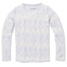 Kids' Merino 250 Baselayer Pattern Crew by Smartwool