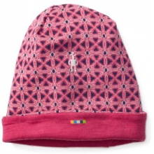 Kids' Merino 250 Reversible Pattern Cuffed Beanie by Smartwool in Ashburn Va