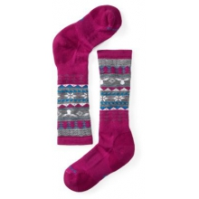 Girls' Wintersport Fairisle Moose by Smartwool