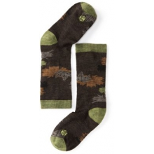 Boys' Charley Harper Glacial Bay Camo Leaf Crew Socks by Smartwool in Ashburn Va