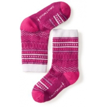 Girls' Diamond Flush Crew Socks by Smartwool