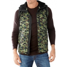Men's Double Propulsion 60 Pattern Hoody Vest by Smartwool