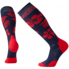 PhD Slopestyle Medium: VANS Hibiscus Flower by Smartwool