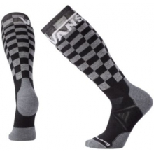 PhD Slopestyle Medium: VANS Checkerboard by Smartwool