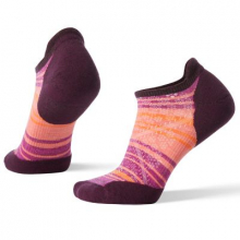 Women's PhD Run Light Elite Striped Micro by Smartwool in Oro Valley Az