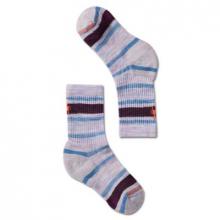 Kids' Light Cushion Striped Crew Socks
