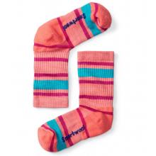 Kids' Light Cushion Striped Crew Socks by Smartwool