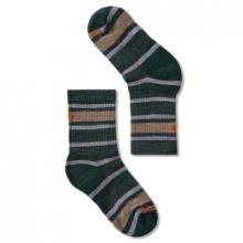 Kids' Light Cushion Striped Crew Socks by Smartwool in Blacksburg VA