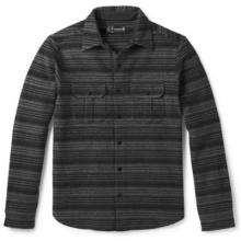 Men's Anchor Line Stripe Shirt Jacket