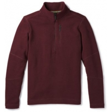Men's Hudson Trail Fleece Half Zip Sweater by Smartwool in Iowa City IA