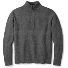 Men's Ripple Ridge Half Zip Sweater by Smartwool in Canmore Ab