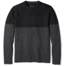 Men's Sparwood Colorblock Crew Sweater by Smartwool in Auburn Al