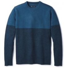 Men's Sparwood Colorblock Crew Sweater by Smartwool in Glenwood Springs CO