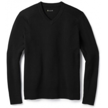 Men's Sparwood V-Neck Sweater by Smartwool in Red Deer Ab