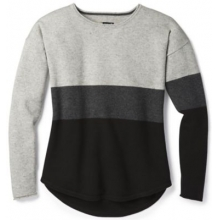 Women's Shadow Pine Crew Sweater by Smartwool in Santa Barbara Ca