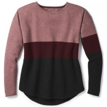 Women's Shadow Pine Crew Sweater by Smartwool in Medicine Hat Ab