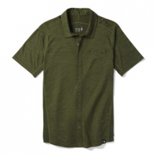 Men's Merino Sport 150 Short Sleeve Button Down by Smartwool in Red Deer AB