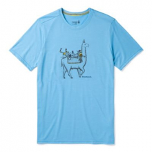 Men's Merino Sport 150 Llama Adventures Tee by Smartwool in Canmore Ab