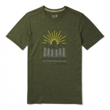 Men's Merino Sport 150 Mountain Morning Tee by Smartwool in Red Deer Ab