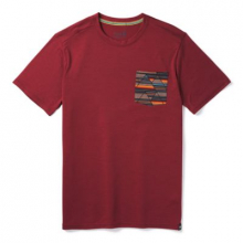 Men's Merino 150 Pocket Tee by Smartwool in Red Deer Ab