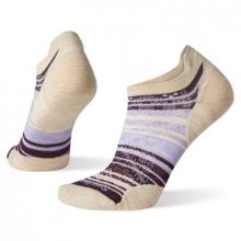 Women's Run Zero Cushion Striped Low Ankle Socks by Smartwool in Marion IA
