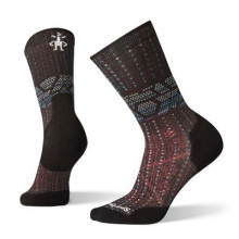 Women's PhD Run Light Elite Print Crew by Smartwool