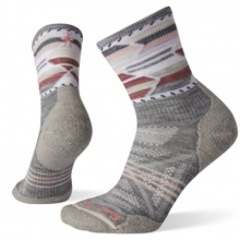 Women's PhD Outdoor Light Pattern Mid Crew by Smartwool in Sioux Falls SD