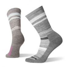 Women's Hike Striped Light Crew by Smartwool