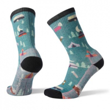 W's Hike Light Summer Nights Print Crew by Smartwool in Sioux Falls SD