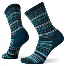 Women's Everyday Zig Zag Valley Crew Socks
