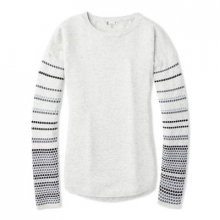 Women's Shadow Pine Crew Sweater by Smartwool in Canmore Ab