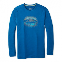 Men's Merino Sport 150 Mountain Aurora Long Sleeve Tee by Smartwool in Quesnel Bc