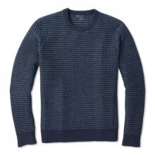 Men's Ripple Ridge Tick Stitch Crew Sweater by Smartwool in Chandler Az