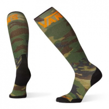 PhD Snow VANS Woodland Camo Print Light Elite by Smartwool