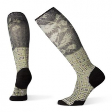 Women's Compression Sightseeing Sunflower Print OTC by Smartwool in Chelan WA