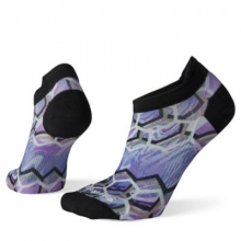 Women's PhD Run Ultra Light Hex Print Micro by Smartwool in Chelan WA