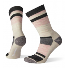 Women's Hike Light Striped Crew by Smartwool in Blacksburg VA