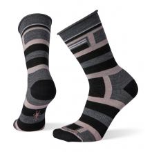 Women's Non-Binding Pressure Free Striped Crew by Smartwool