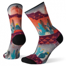 Women's PhD Outdoor Light Print Crew by Smartwool in Sechelt Bc