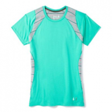 Women's Merino 150 Baselayer Colorblock Short Sleeve by Smartwool