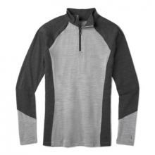 Women's Merino 150 Baselayer Colorblock 1/4 Zip by Smartwool