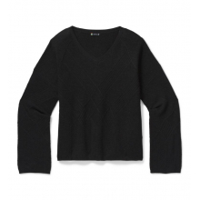 Women's Shadow Pine Cable V-Neck Sweater