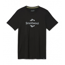Men's Merino Sport 150 Smartwool Logo Graphic Tee by Smartwool