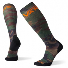 Smartwool PhD Snow VANS Woodland Camo Print Light Elite by Smartwool