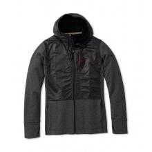 Men's Merino Sport Fleece Full Zip Hybrid Hoodie
