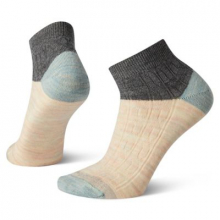 Women's Everyday Cable Ankle Boot Socks by Smartwool in Omak WA